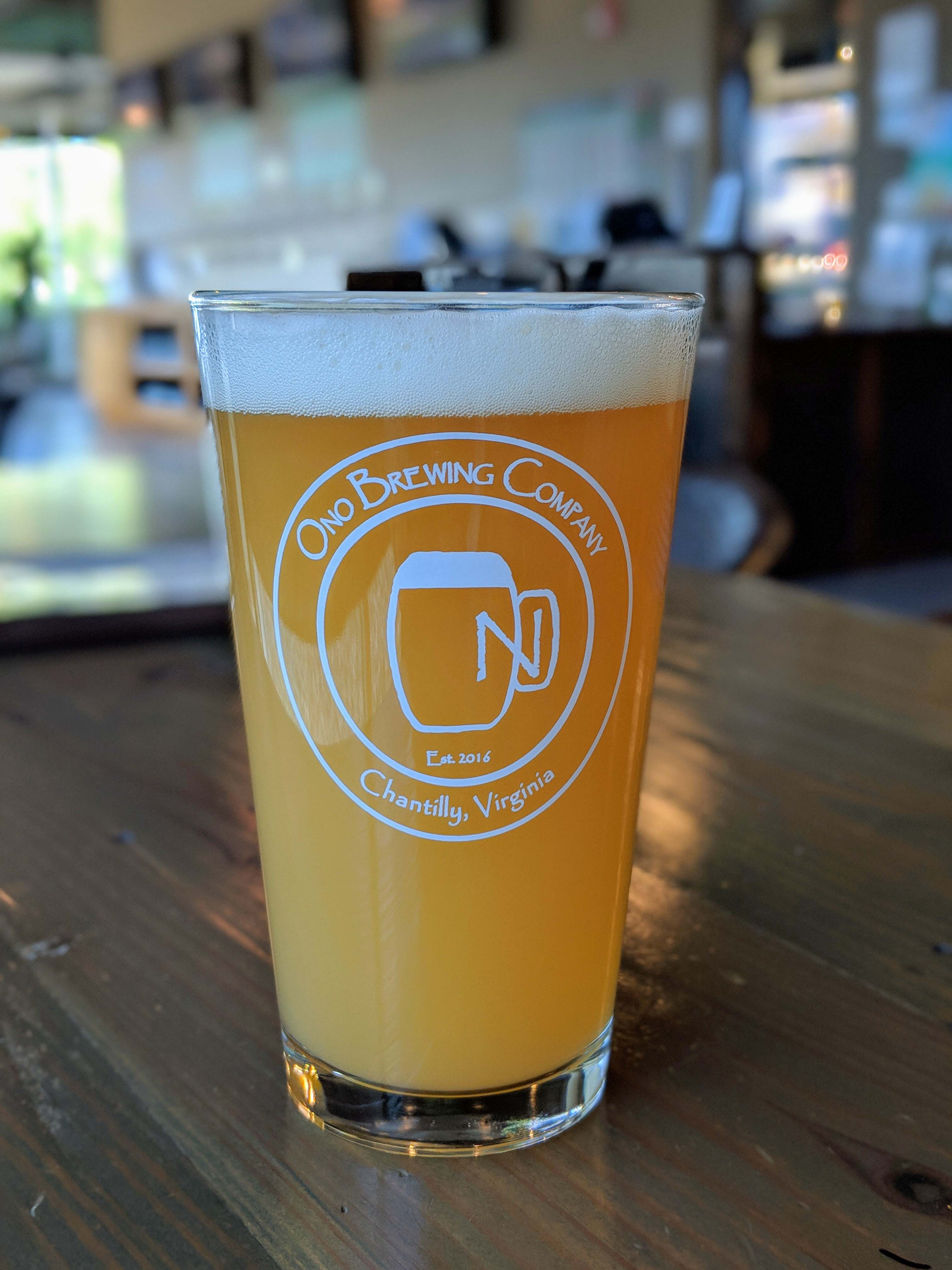 Ono Brewing Company, Chantilly craft beer