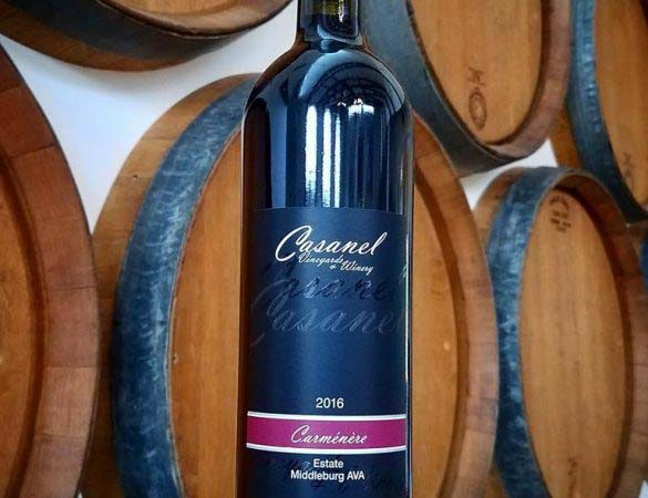 Casanel Carménère Awarded 'Best of Class'
