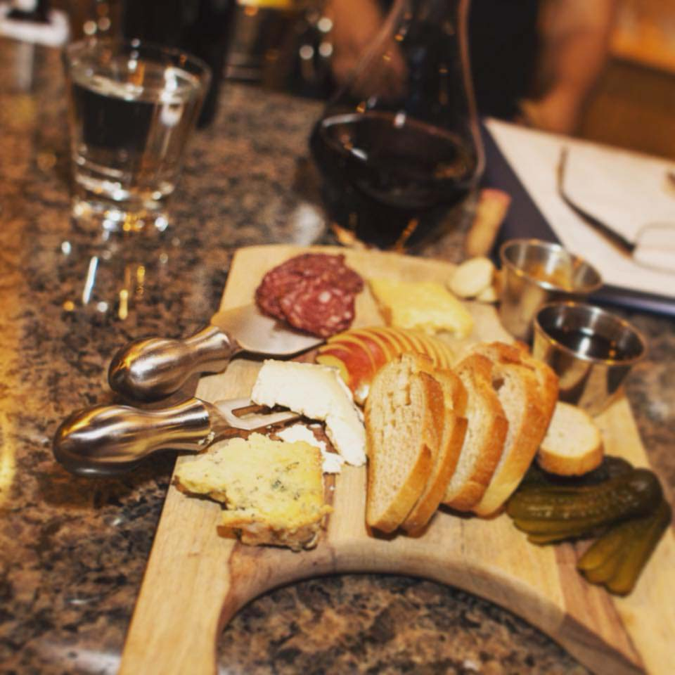 Press wine bar, Virginia Beach, charcuterie board