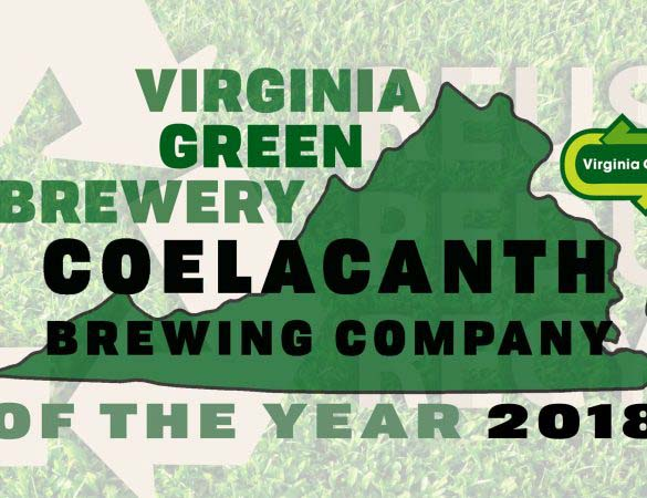 Coelacanth Named Green Brewery of the Year