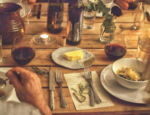 The Shack's Ian Boden and Caromont Farm Team Up for a Farm Dinner