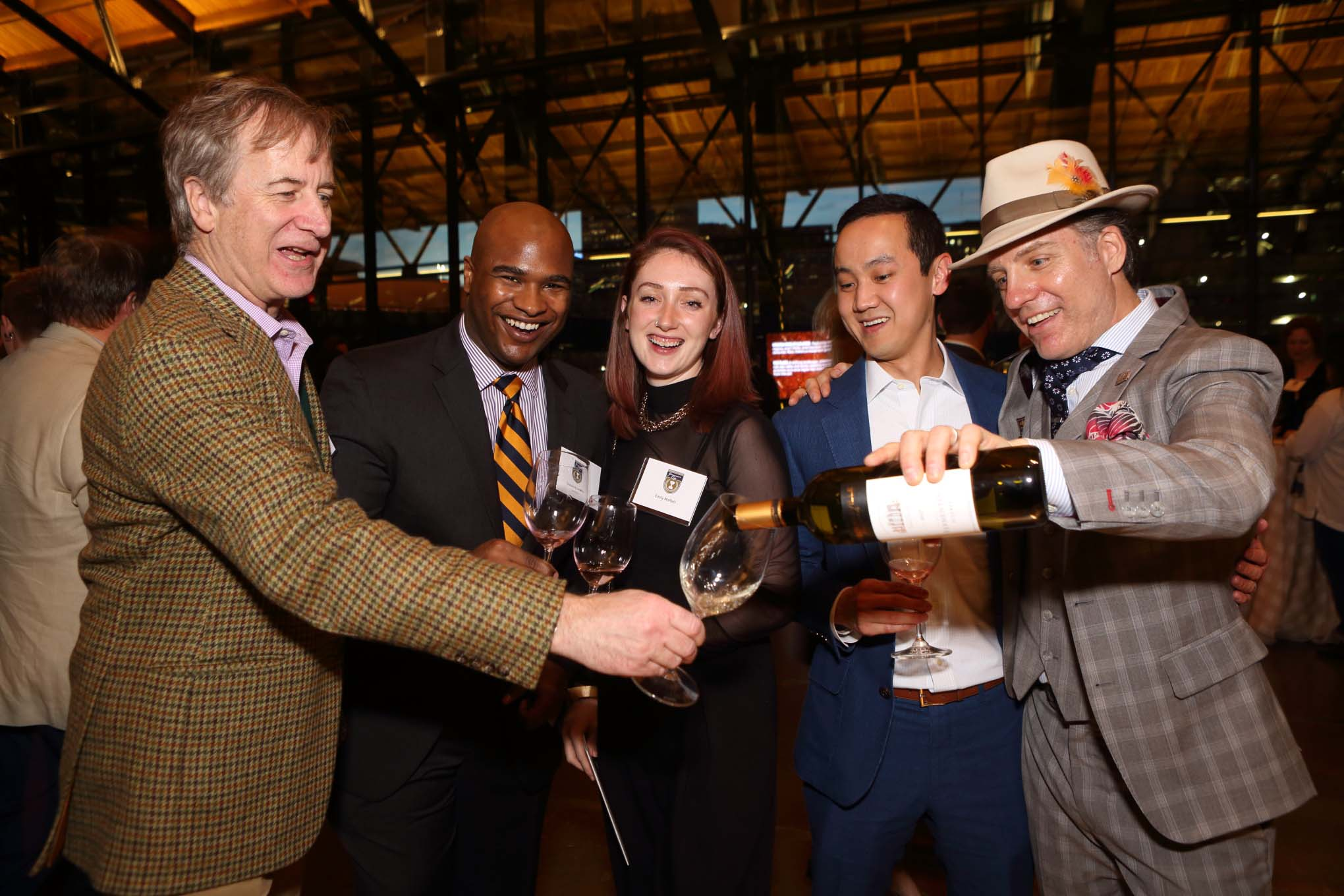 Virginia wine poured at Richmond's Governor's Cup