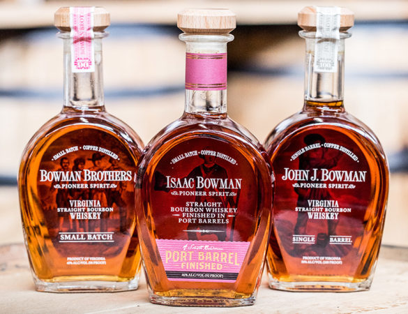 A. Smith Bowman Distillery Awarded at 2020 International Spirits Challenge