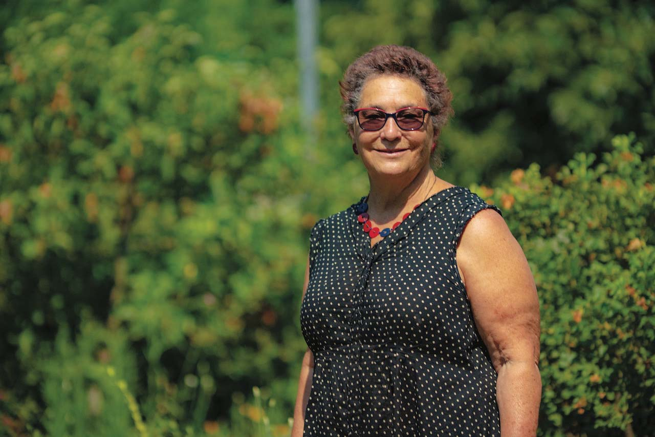 Amina Harris, Director of the UC Davis Honey and Pollination Center