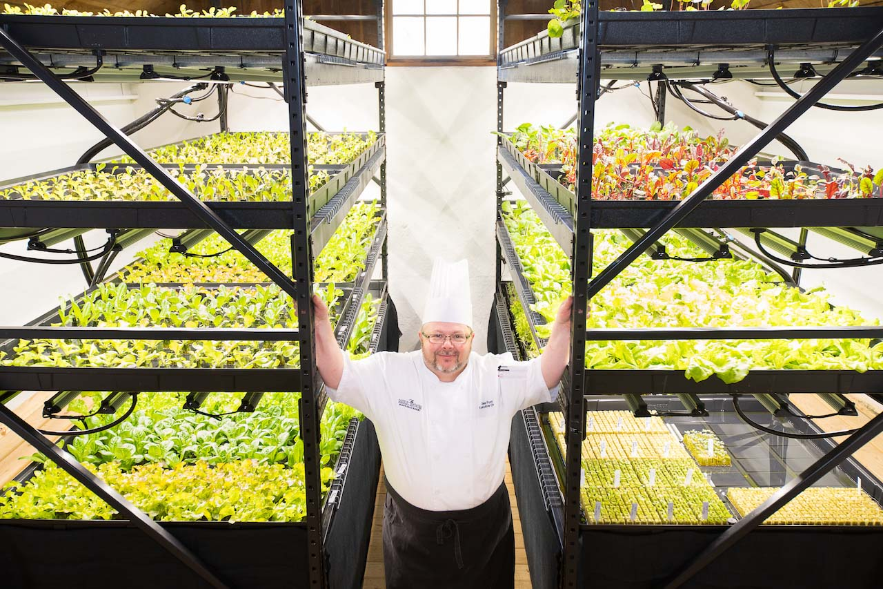 Chef Dale Ford at Boar's Head Resort