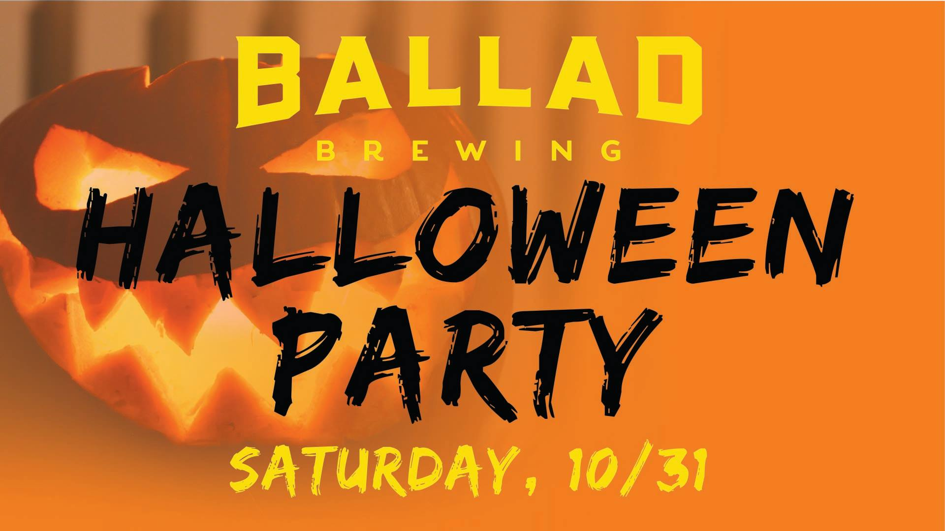 Ballad Brewing Halloween Party