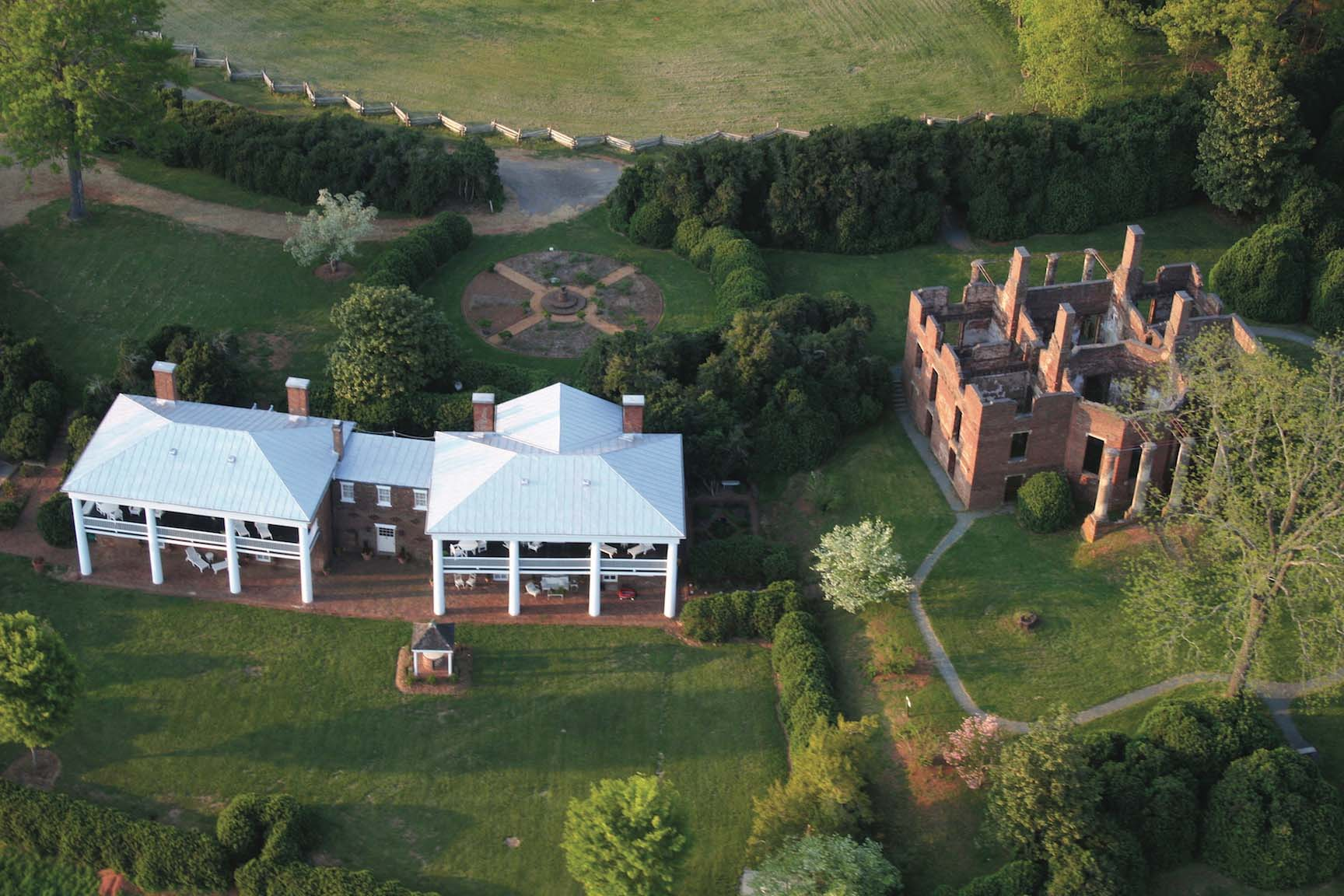 Barboursville Vineyards, vineyards with accommodations
