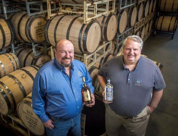 KO Distilling's Bare Knuckle American Rye Whiskey Release