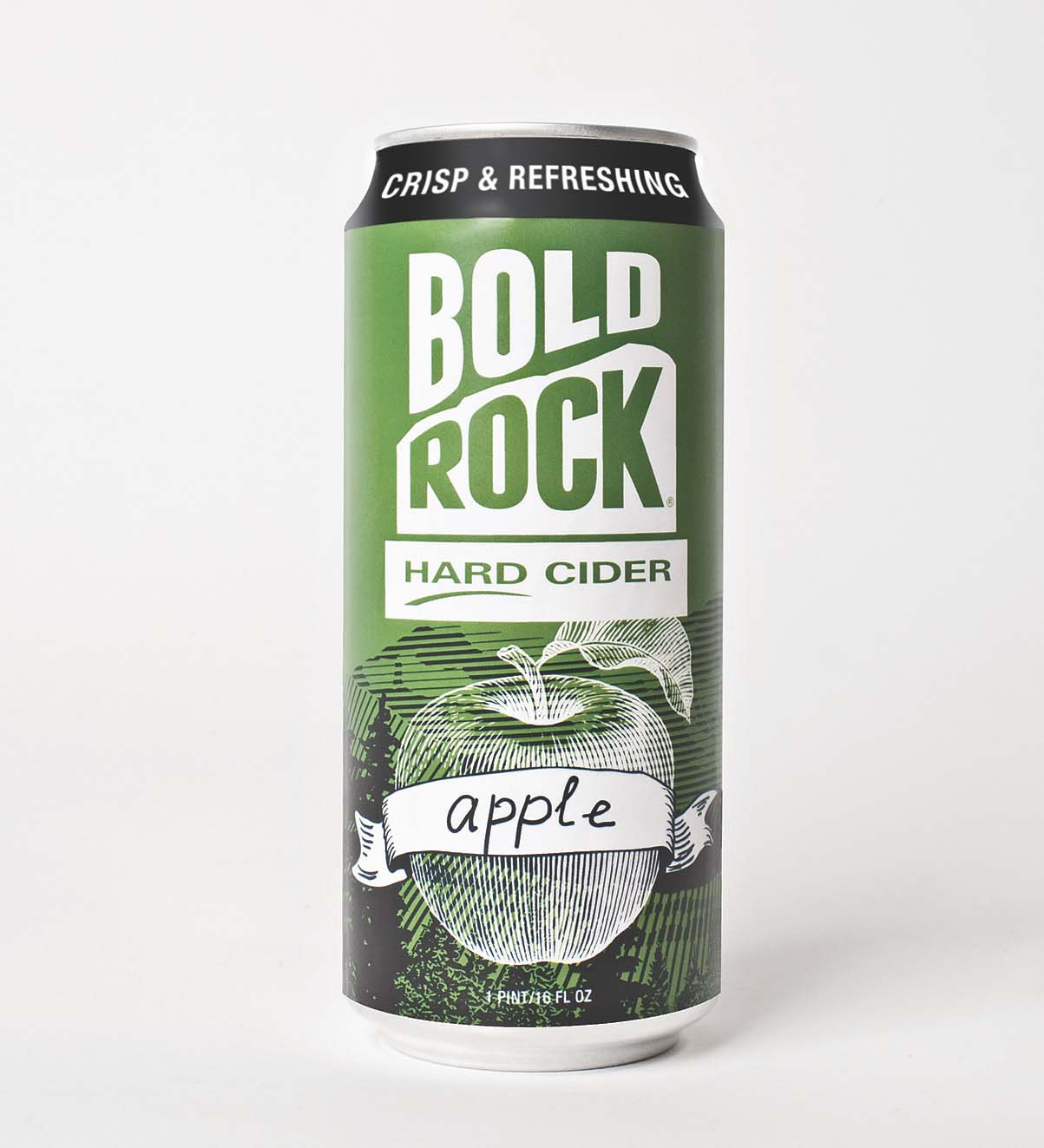 Bold Rock Hard Cider Can, Nellysford