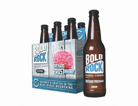 Bold Rock Debuts Orchard Frost Spiced Cider
