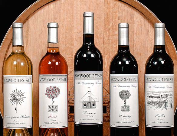 Boxwood Estate Winery Releases Special Vintages