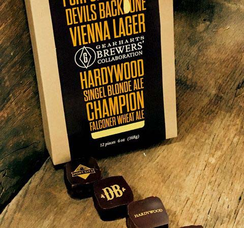 Gearharts Fine Chocolates Introduces Virginia Brewers' Collaboration