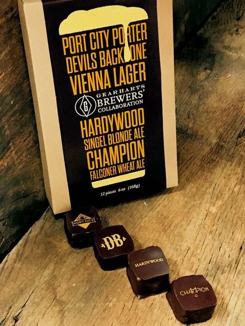 Gearharts Chocolates Virginia Brewers' Collaboration