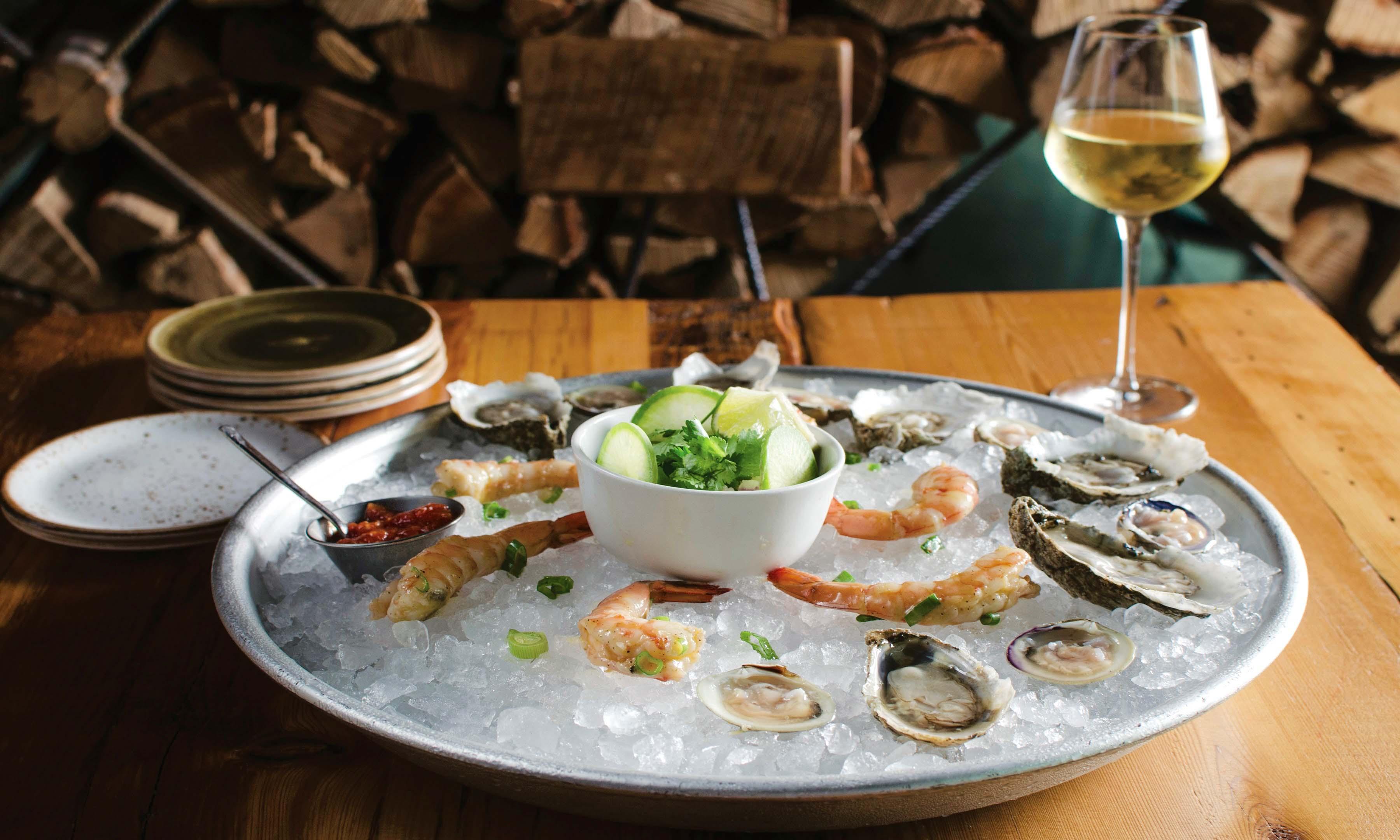 Brine Restaurant, Fairfax, oysters