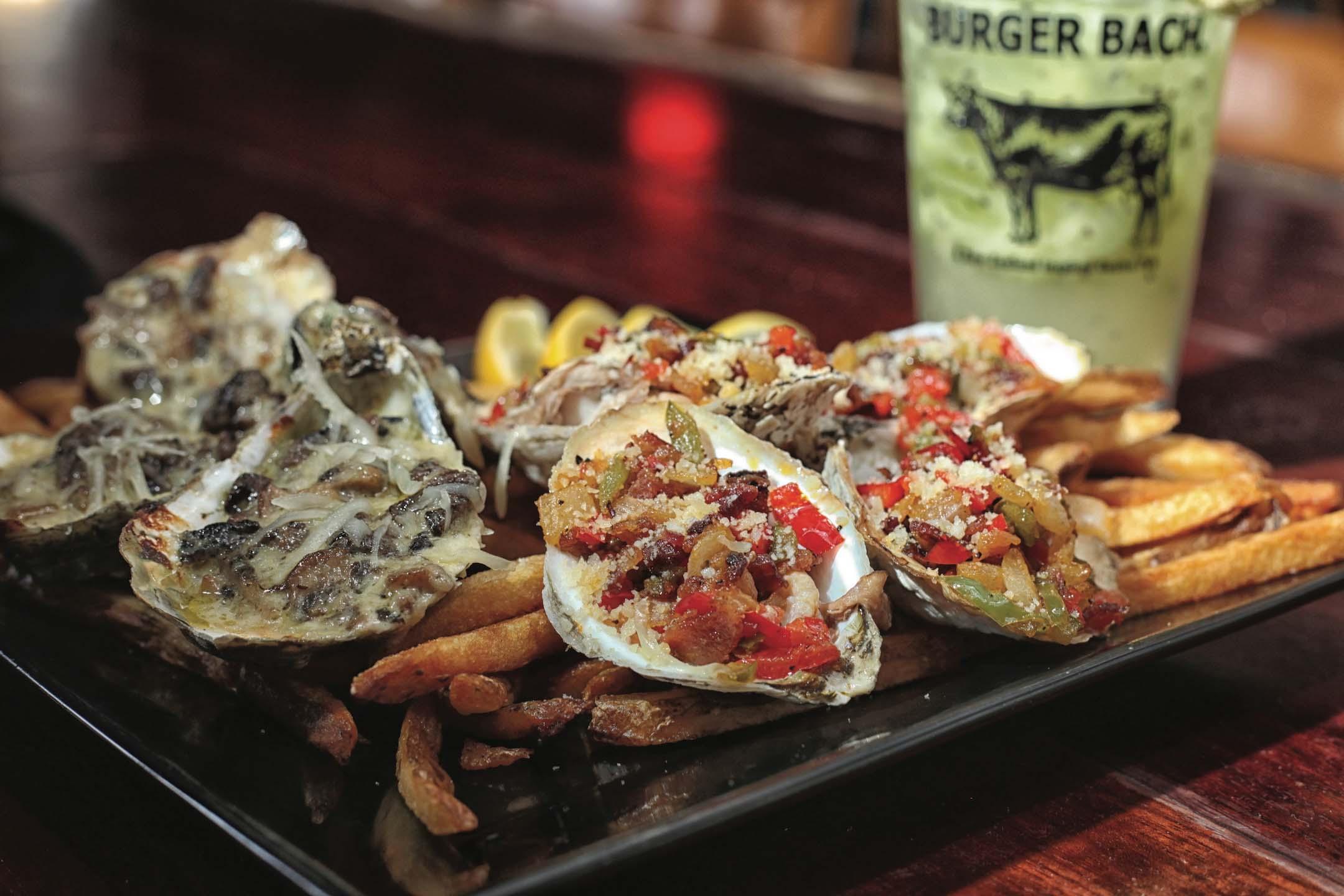 Burger Bach, Richmond, Oysters