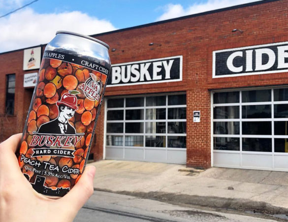 Buskey Cider Announces Seasonal Peach Tea Cider Release