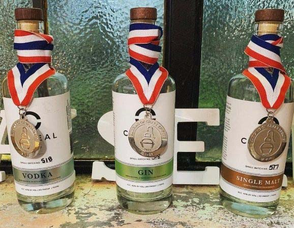 Caiseal Beer and Spirits Co. Awarded at Craft Spirits Competition