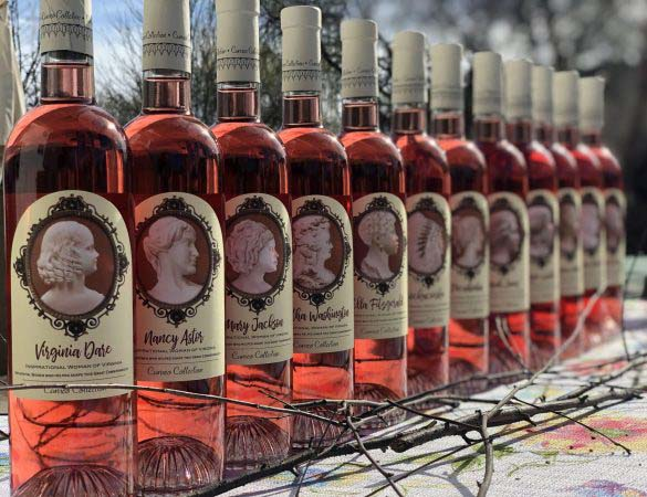 Signature Rosé Collection Commemorates Virginia's Historic Women