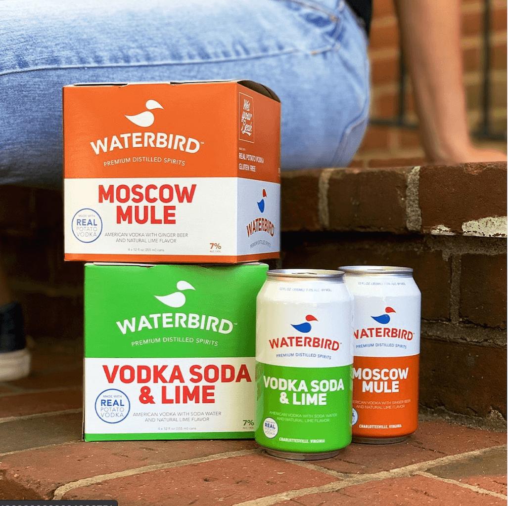 Waterbird canned cocktail