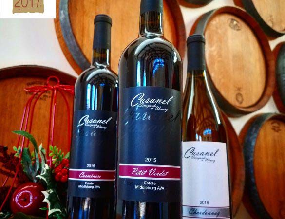 Casanel Vineyards Named Harvest Challenge Winner