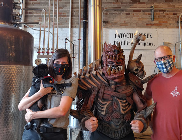 Catoctin Creek Distilling Co. Collaborates with GWAR to Release Ragnarök Rye
