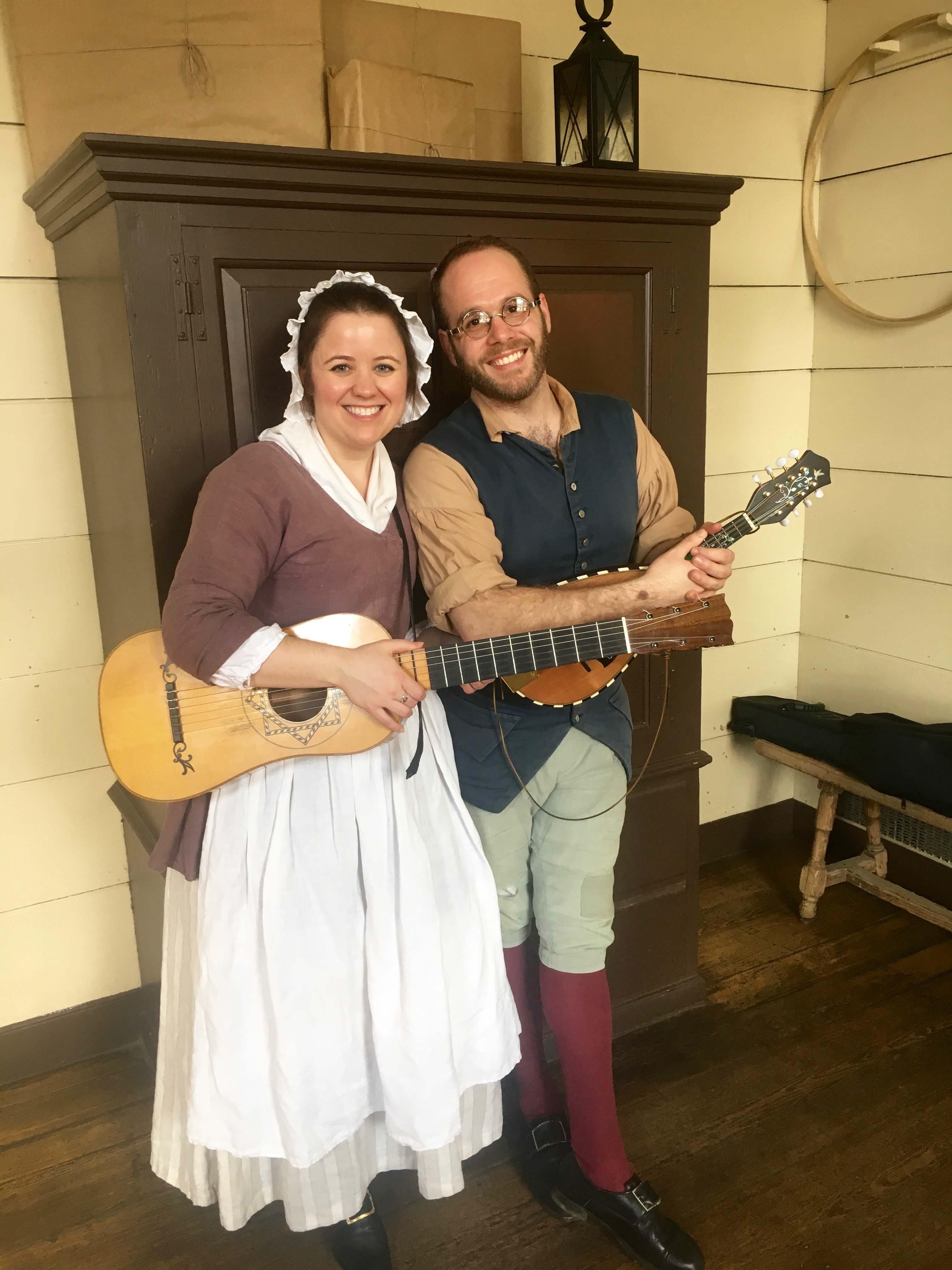 Chowning's Tavern, music, Colonial Williamsburg restaurants