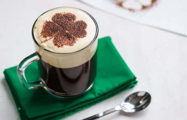 Cinnamon Irish Coffee