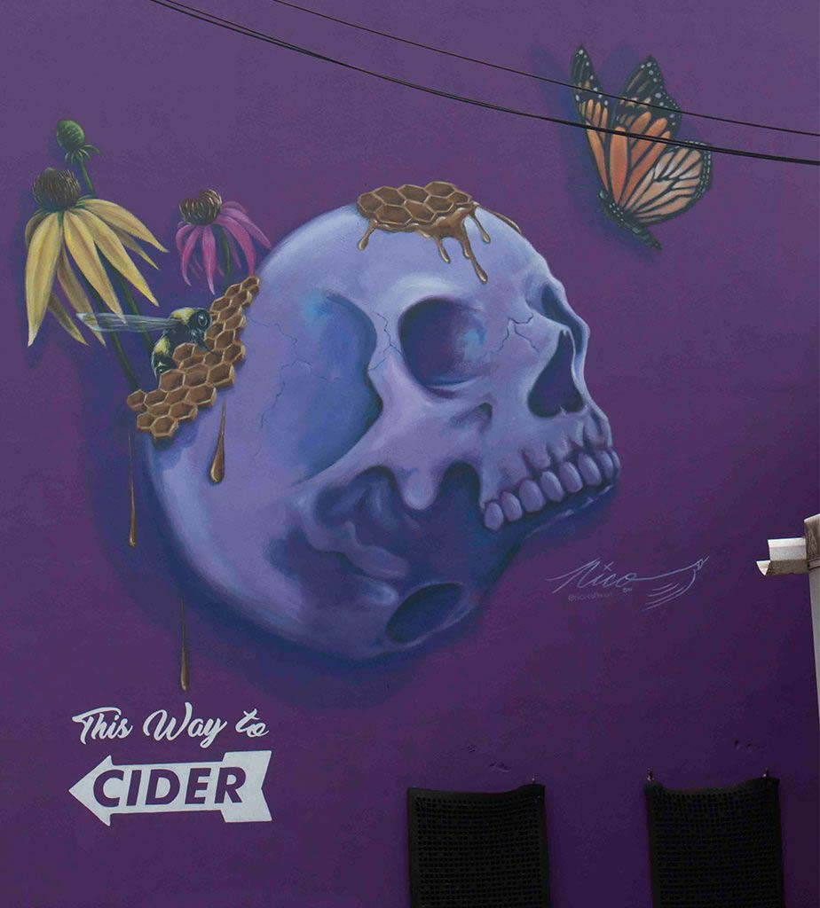 Courthouse Creek mural