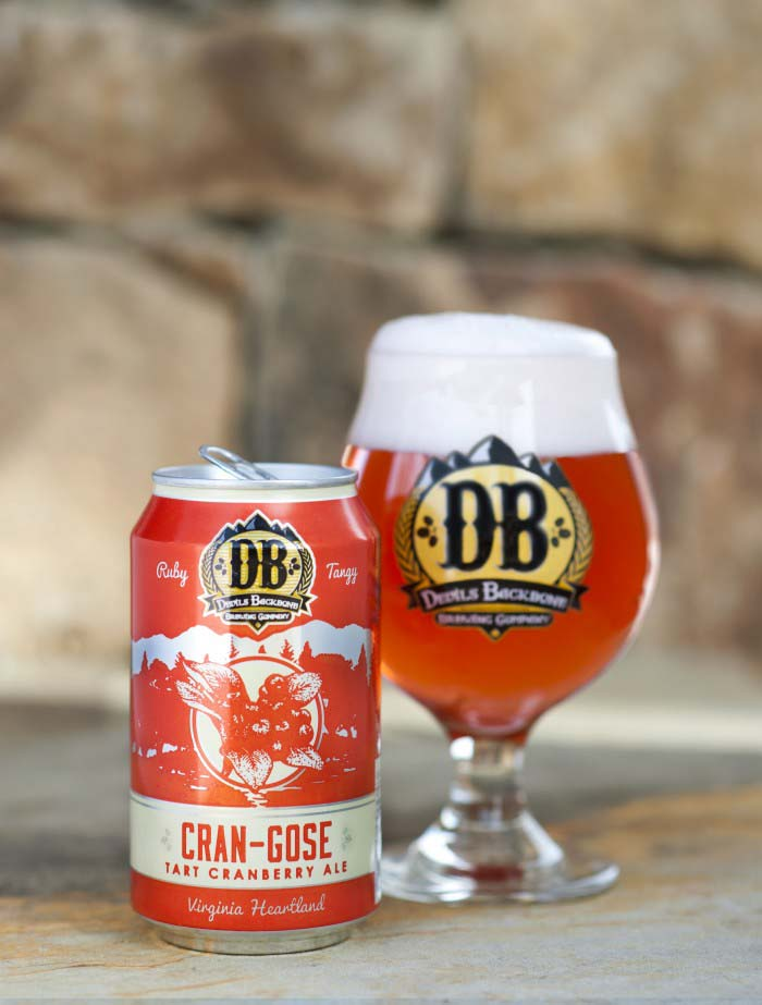 Devils Backbone CranGose, Roseland, Holiday beers