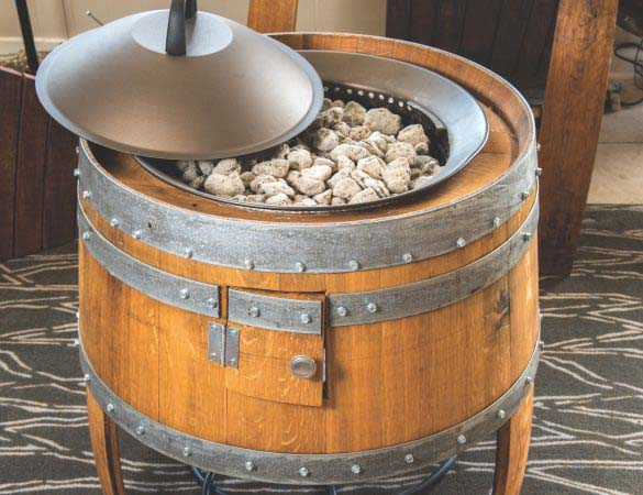 Couple Gets Crafty with Barrel-Art