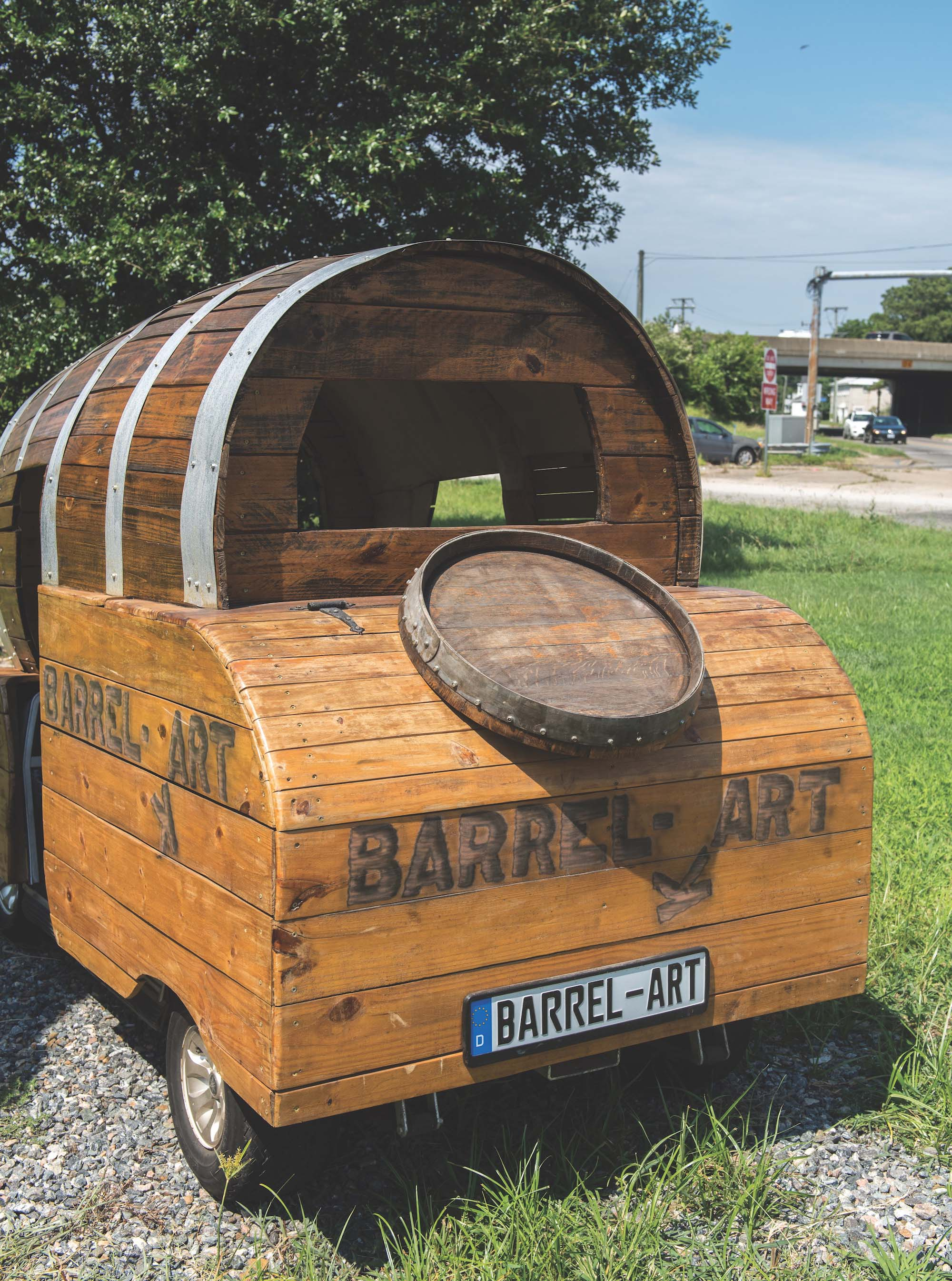 Barrel-Kart, Barrel-Art, Hampton