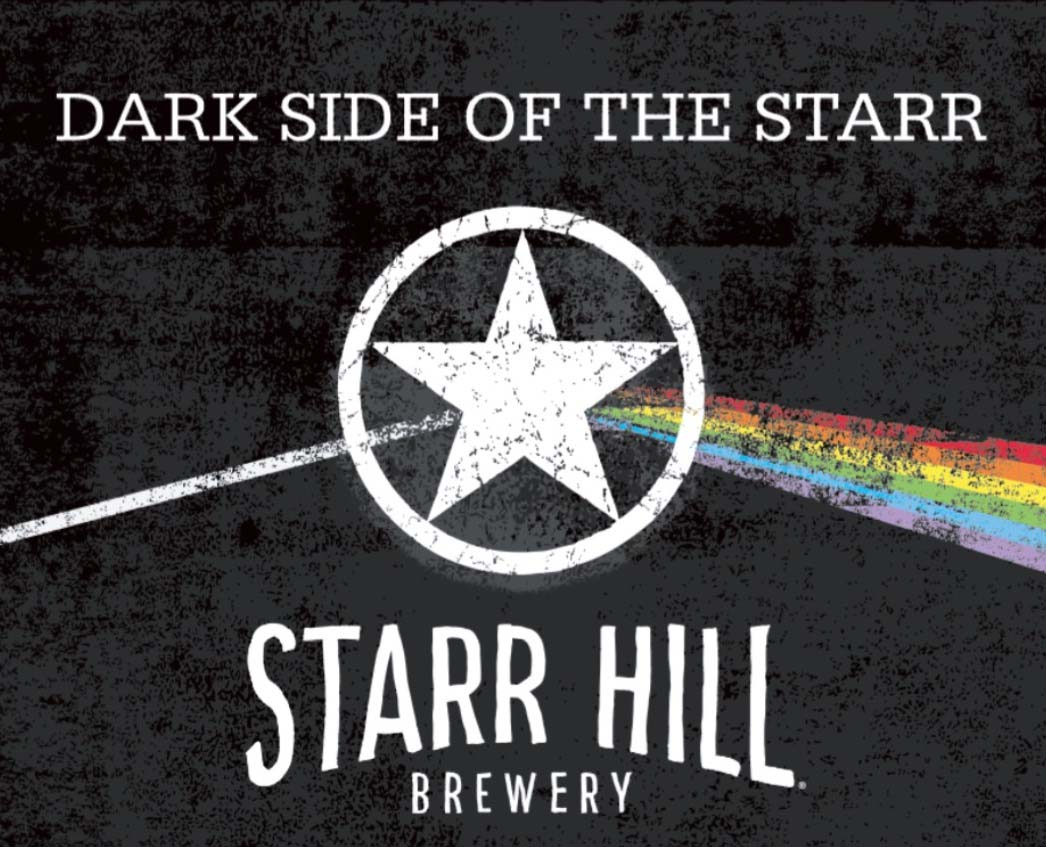 Dark side of the Starr, Starr Hill Brewery Crozet