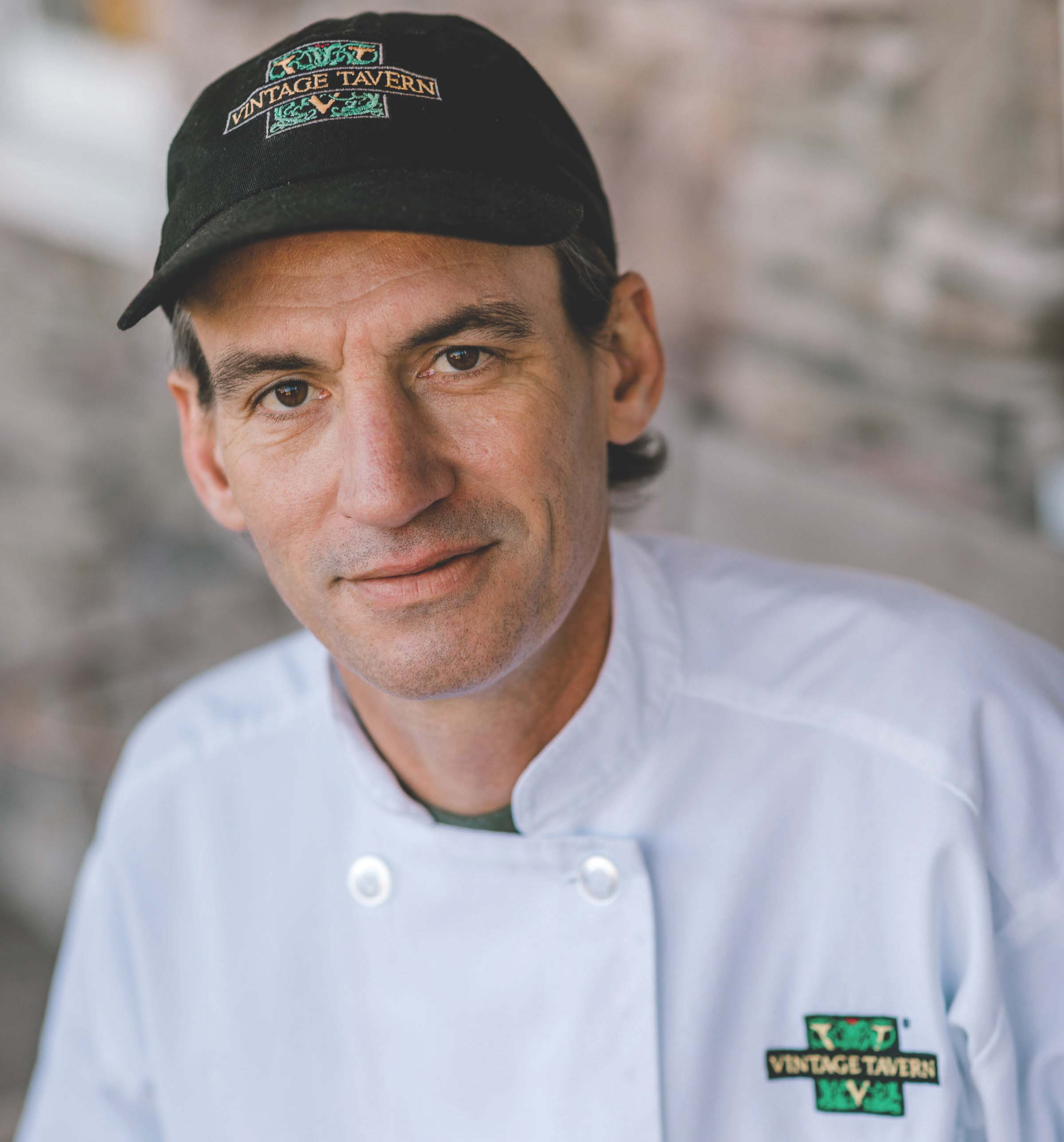 Executive Chef Dave Walters of Vintage Tavern in Suffolk