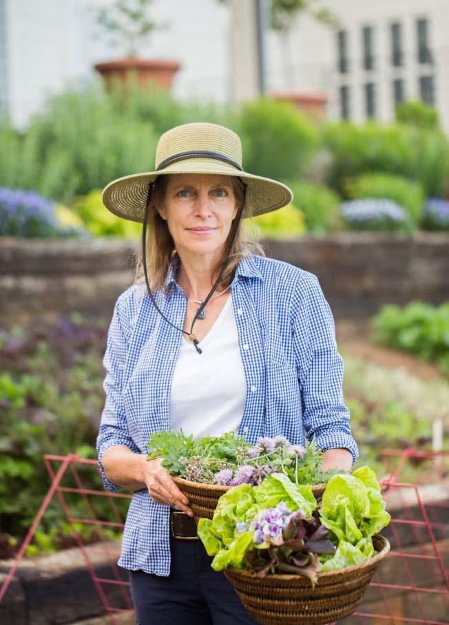 Diane Burns, Pippin Hill Farm & Vineyards Master Gardener