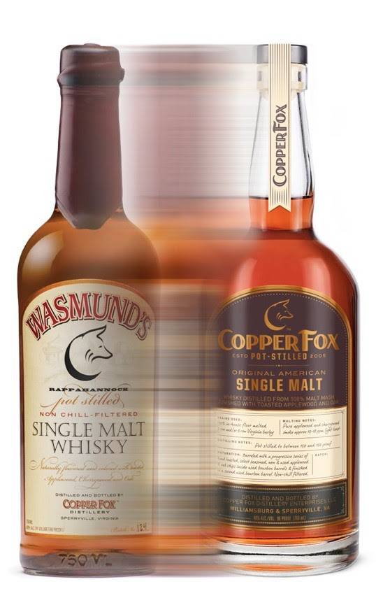 Copper Fox Single Malt Whisky