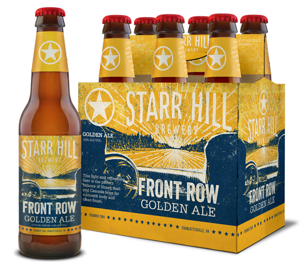 Starr Hill, Front Row Golden Ale, Virginia craft beer