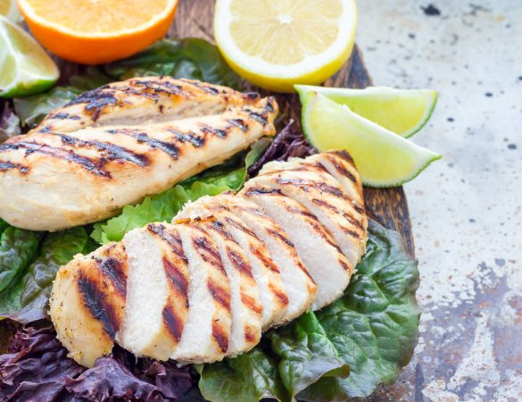 New Kent Winery Grilled Citrus Chicken Recipe