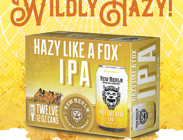 New Realm Brewing Releases Hazy Like A Fox IPA 12 Pack