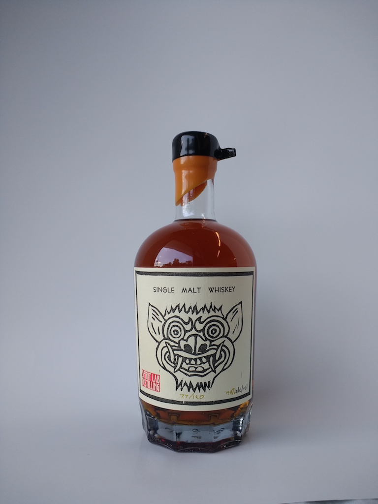 Spirit Lab Distilling whiskey
