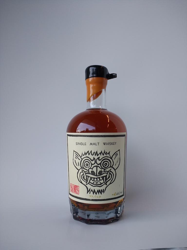 Spirit Lab Distilling whiskey