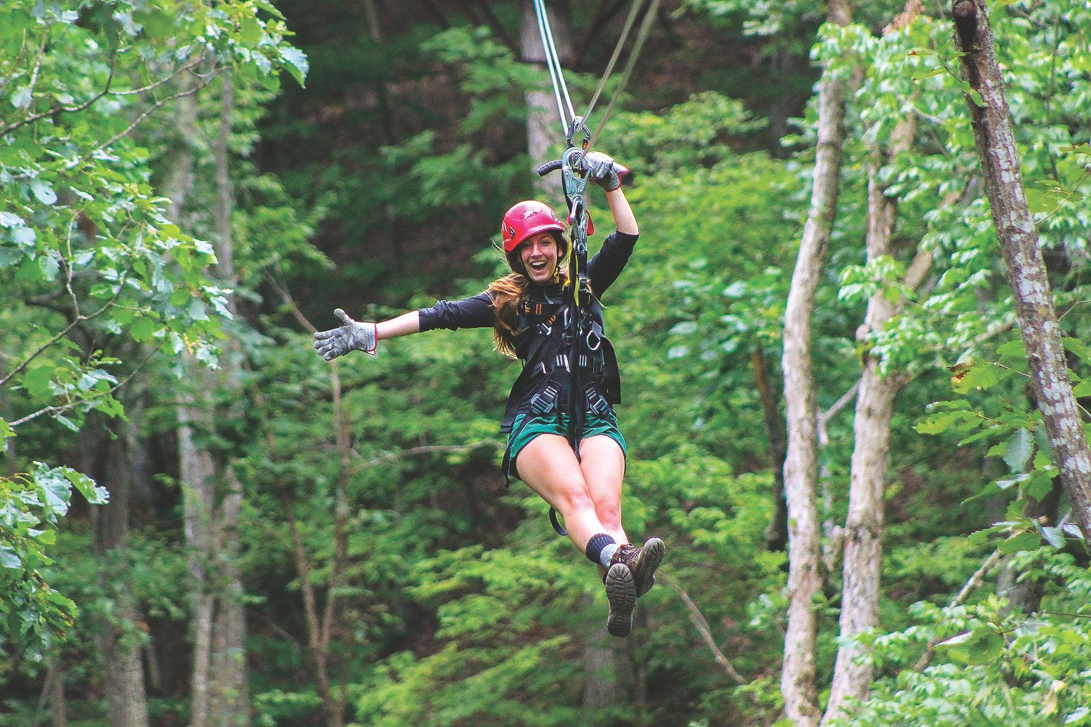 Virginia Canopy Tours, Bentonville