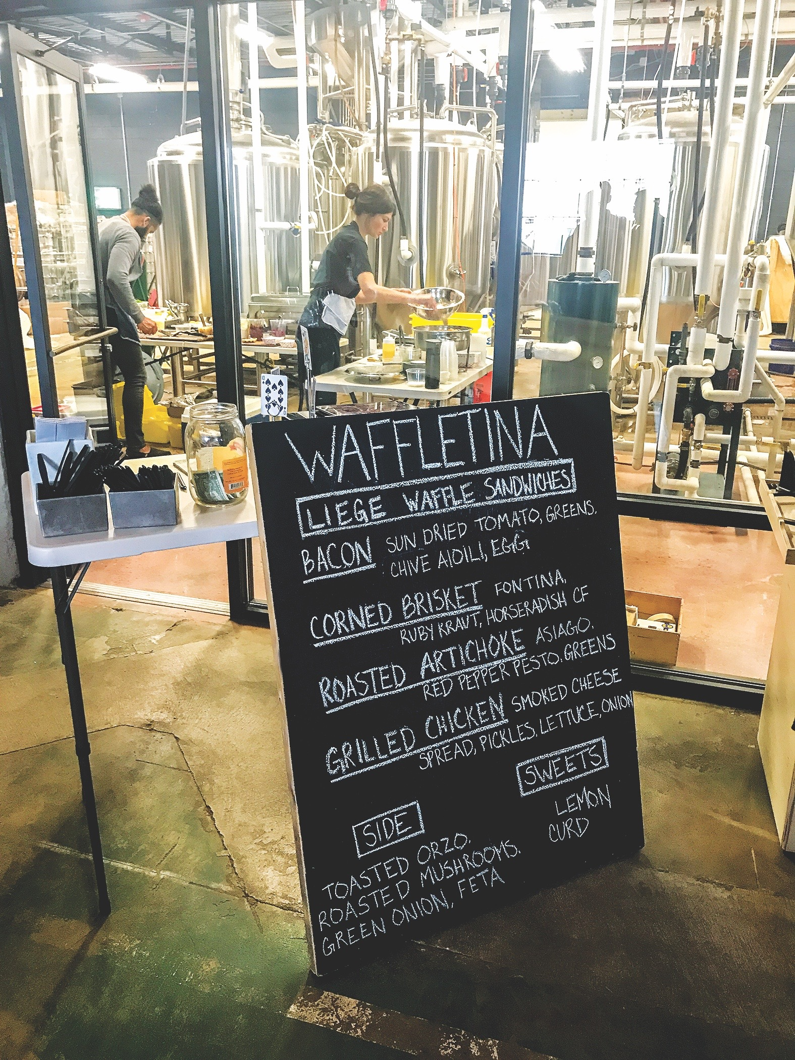 Waffletina Benchtop Brewing Norfolk