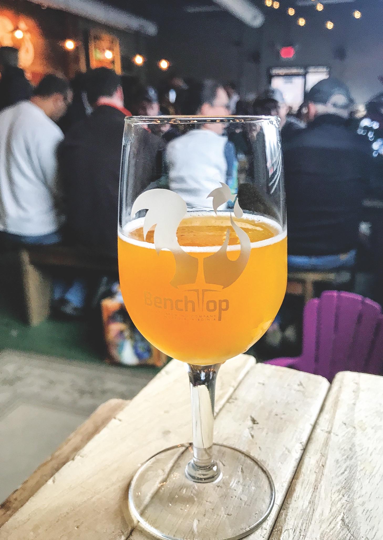 Benchtop Brewing Norfolk, craft beer Virginia