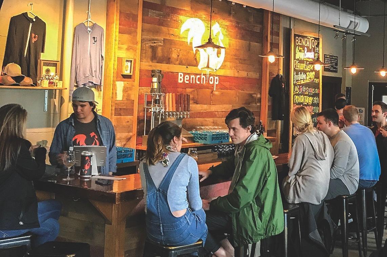 Benchtop Brewing Norfolk craft beer