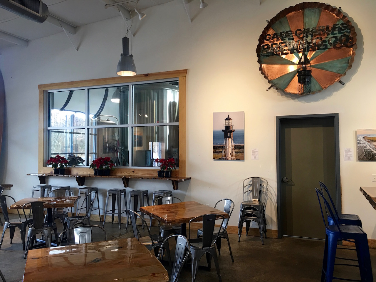 Cape Charles Brewing taproom