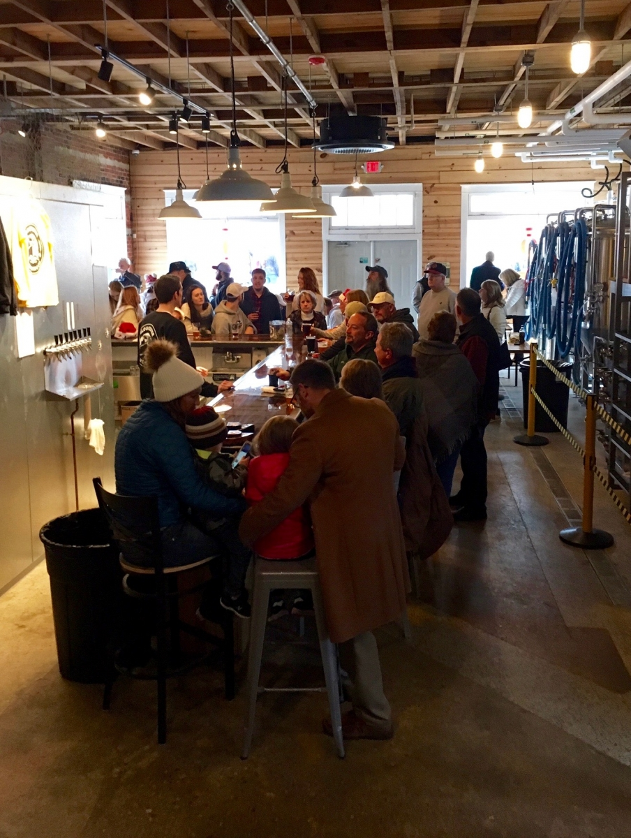Gloucester Brewing Company opens on Main Street in Gloucester