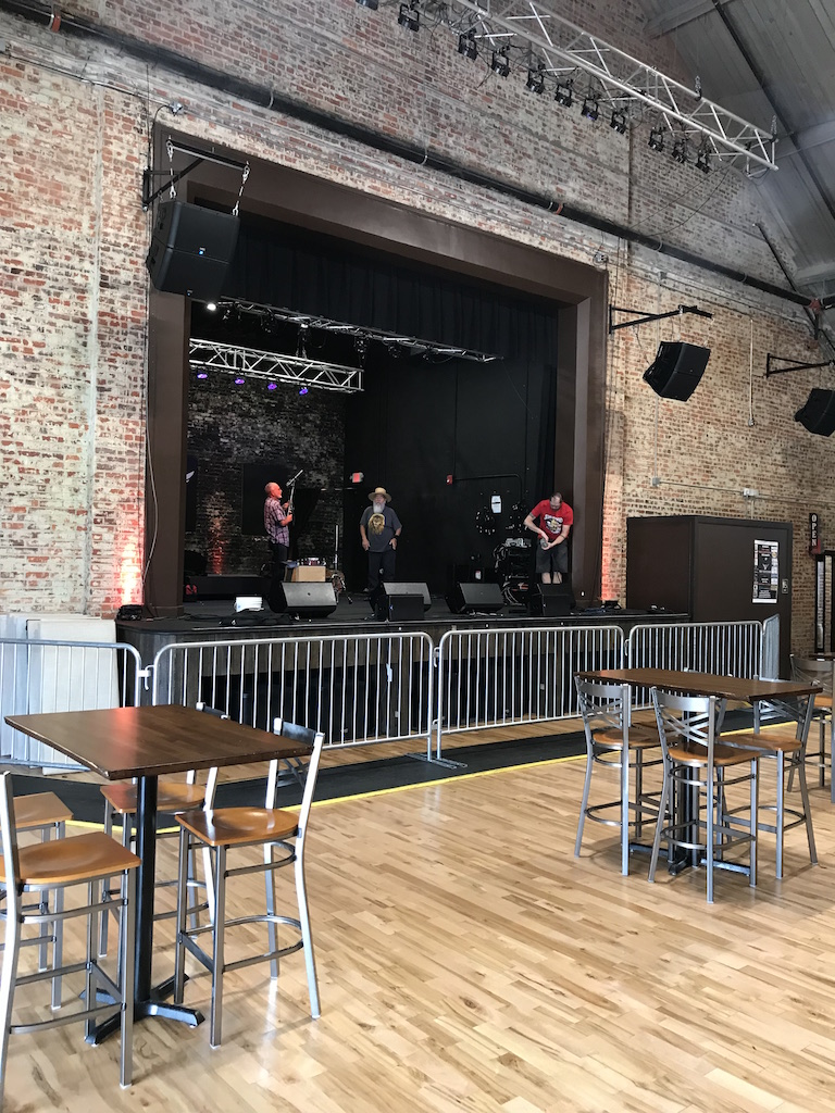 The Vanguard as a venue