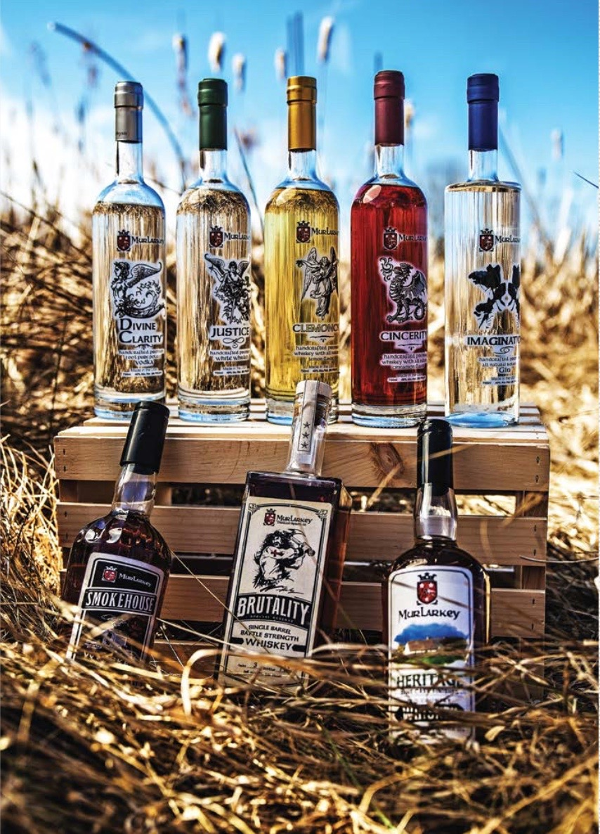 Infused Whiskey Flavors, Virginia, MurLarkey Distilled Spirits