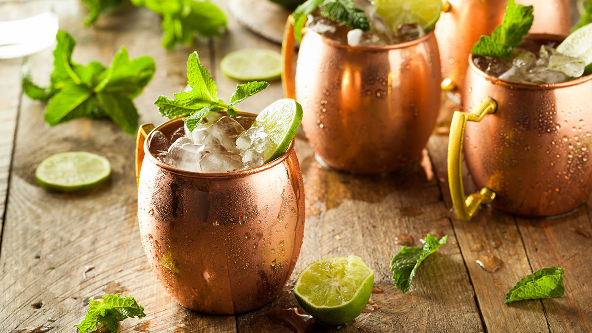 Irish Mule, St. Patrick's Day craft cocktail Recipes