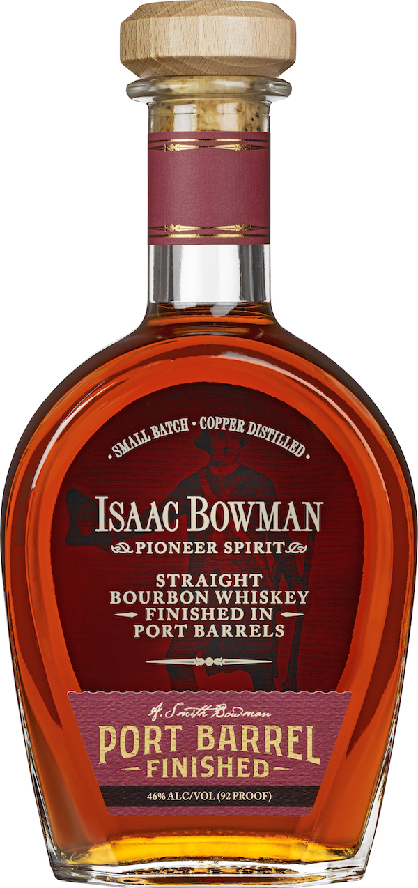 Bowman Brothers Isaac Bowman, Fredericksburg, Port Finished Bourbon Whiskey
